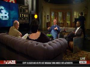 Dr. Gary Thompson Chatting on Live TV With Glen Beck